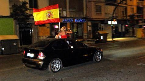 Málaga después del Partido: 22:31 h