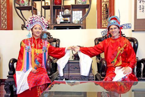 Boda de Alfonso y Lili en China
