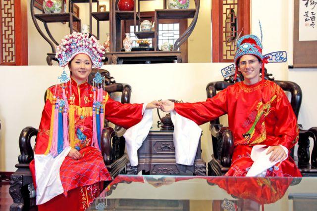 Novias de China continental y