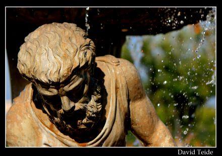 Escultura de una fuente