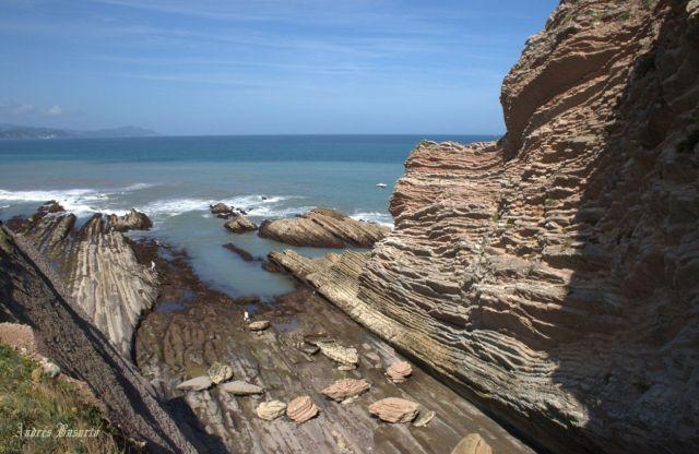 Los flysch de la erosión