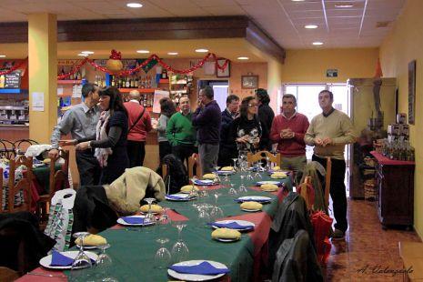 Comida OM Navidad 2010