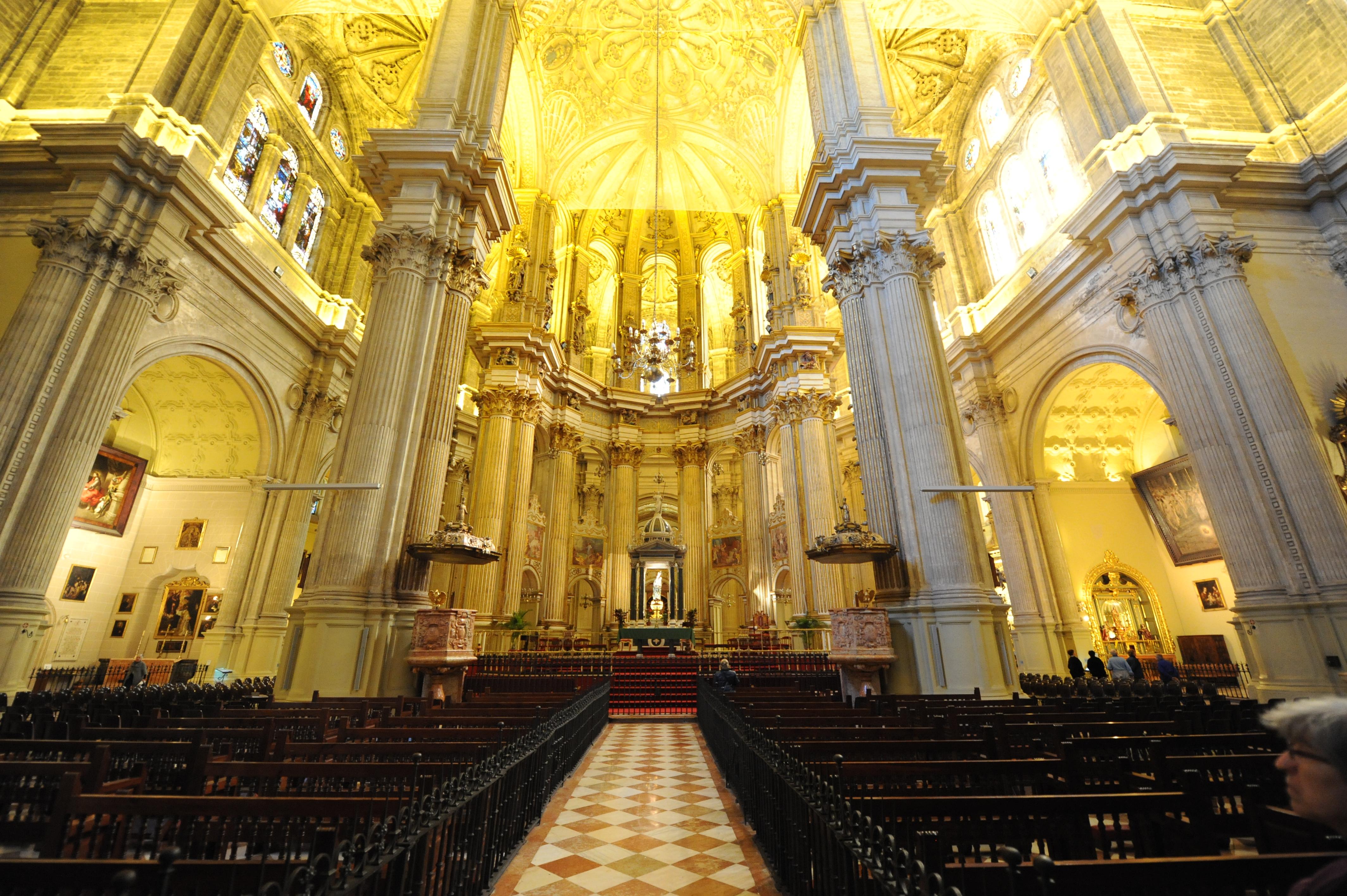 Catedral de malaga fotos de m laga capital - Foto foto interior ...