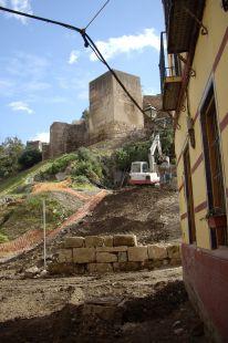 muro  al filo de la muralla