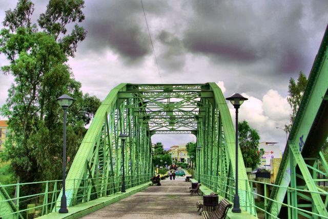 Puente Rio Guadalhorce  Cartama