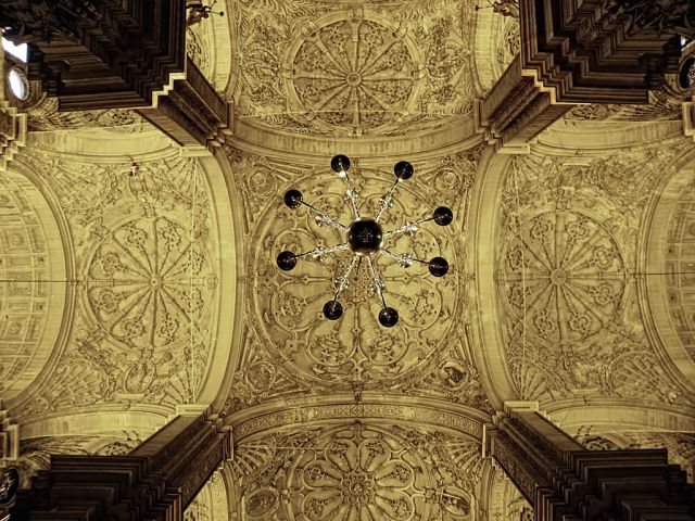 Catedral...detalles de interior.