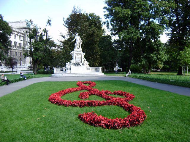 Monumento a  Mozart en Viena
