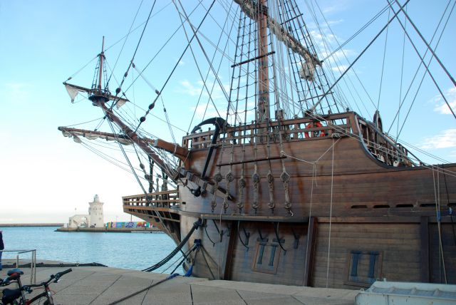 El Galeón La Pepa en Puerto Sherry