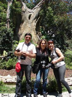 Antonio, Ana Mary y Carmen Ocaña