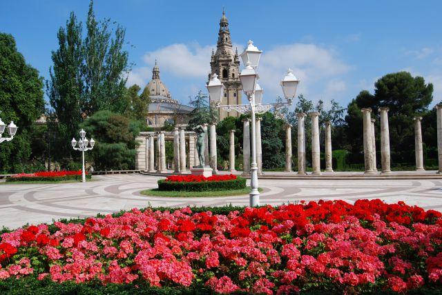 Jardines joan maragall de barcelona fotos de otras for Jardines de barcelona