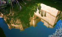La catedral en el estanque