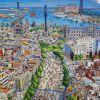 Las Ramblas y el Puerto de Barcelona