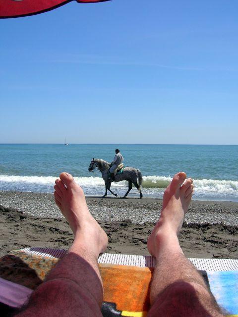 El Mediterráneo a sus pies