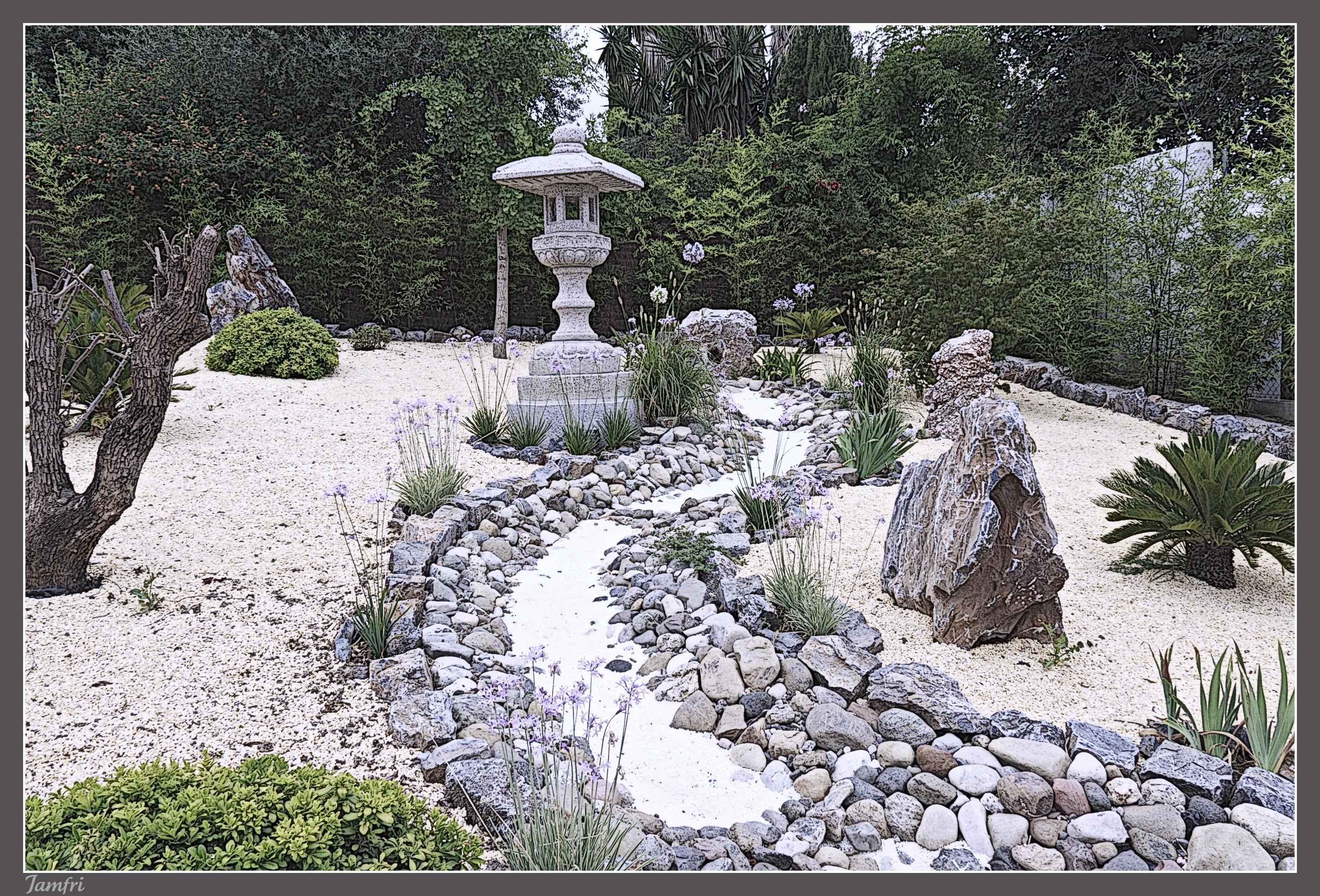 Jard n oriental fotos de varias for Jardin oriental