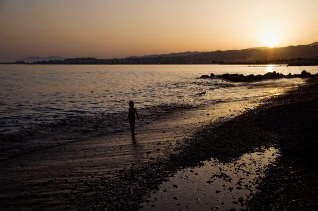 Los últimos rayos (Playa de Algarrobo-Costa)