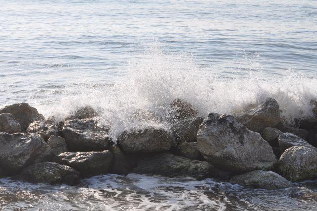 rompen las olas