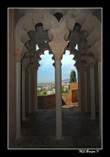ANTIGUO y Monumental- Alcazaba de Málaga-