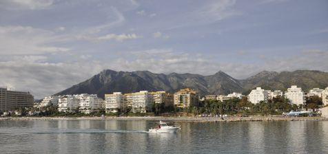 El puerto de Marina La Bajadilla