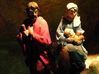La Virgen María el Niño Jesús y San José