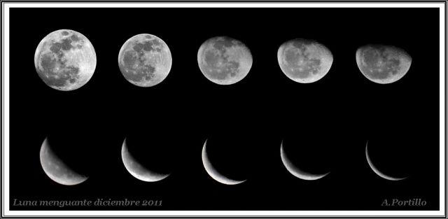 Noches de luna menguante