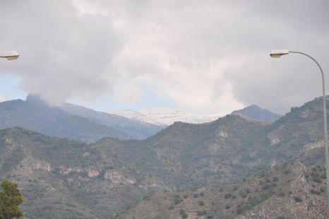 nubarrones en la sierra