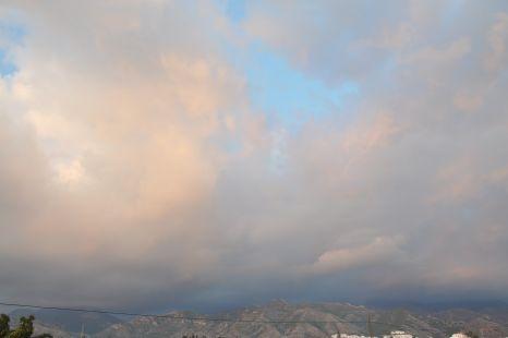 Reflejos y nubes