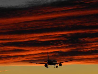 Volando hacia las nubes