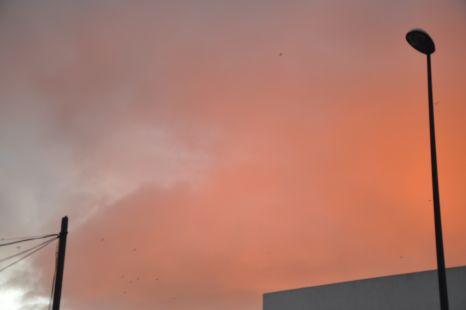 es el cielo,no fuego