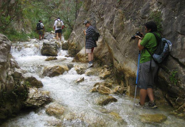 Subida al río Chillar