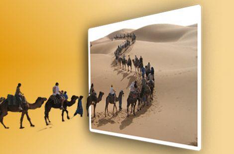 Entrando en el desierto
