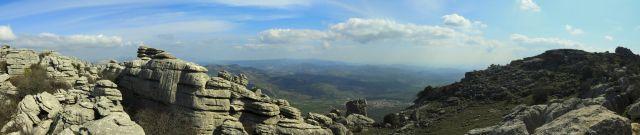 Vista desde El Torcal