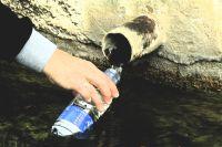 Llenando la botella