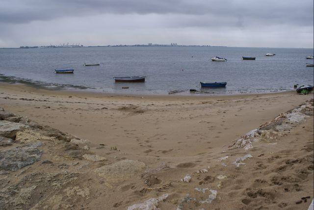 Barcas en bajamar