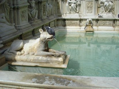Fuente de Siena en Italia
