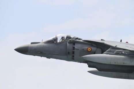 PASADA DE UN HARRIER
