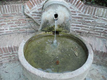 Fuente del Parque del laberinto en  Barcelona