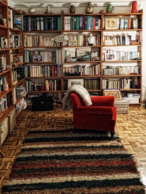 El rincón de la lectura.