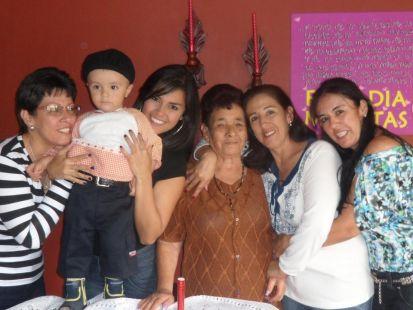 Cumpleaños Madre y Hermana Estela