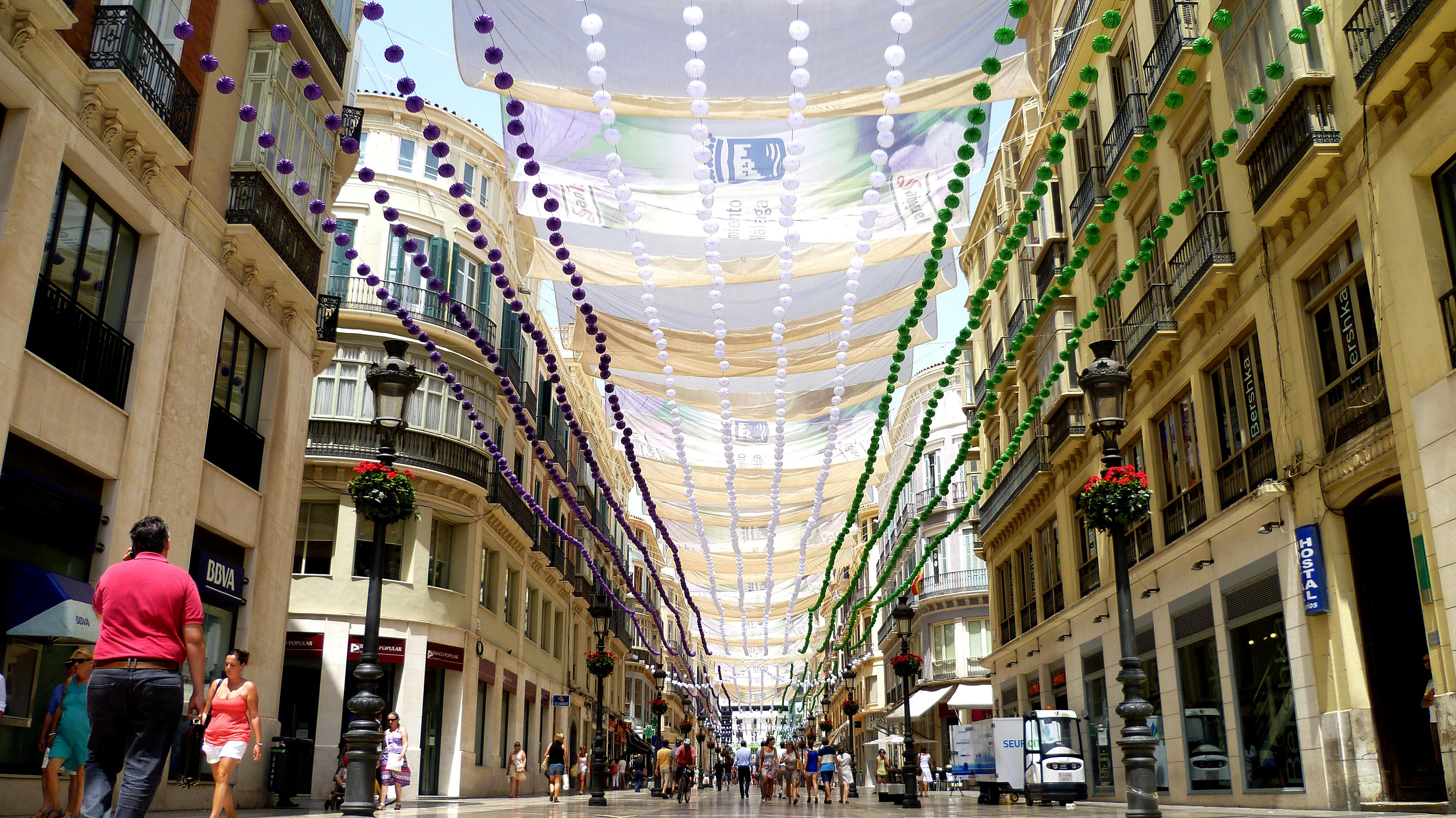 La Calle Larios Todo Listo Fotos De Feria De M 225 Laga