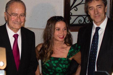 Victoria Abril y periodistas