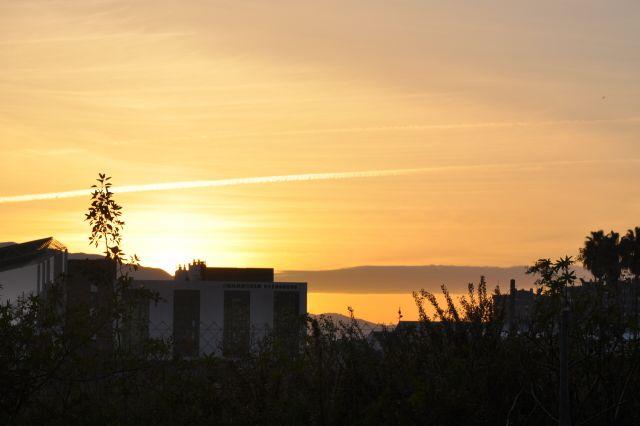 puesta de sol