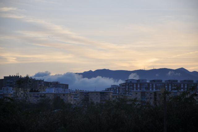 nubes o niebla