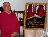 presentación cartel del Martes Santo Cofradia del Calvarioi Torremolinos