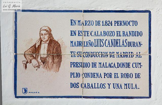 Rotulo celda Luis Candelas