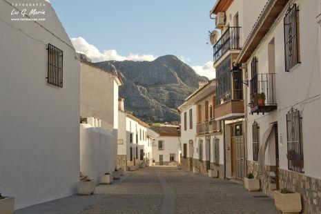 Calles de Alfarnatejo