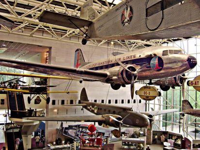 Museo del Aire y del Espacio en Washington