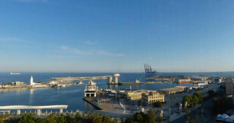 La bahía de Málaga