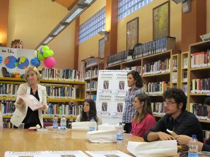 La Esperanza del Caballero Legendario en el I Encuentro de jóvenes escritores en Alhaurín de La Torre