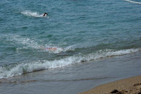 Prueba de natacion