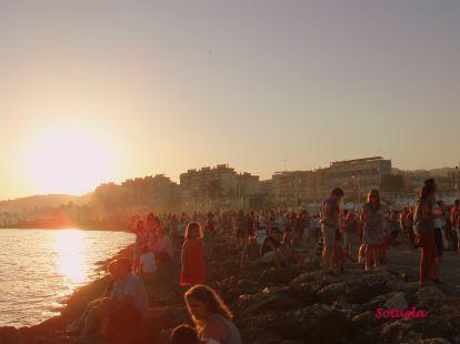 El Palo, puesta de Sol.JPG